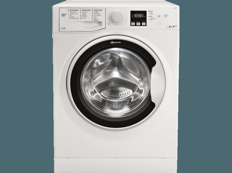 BAUKNECHT WA SOFT 8F42PS Waschmaschine (8 kg, 1400 null, A+++)