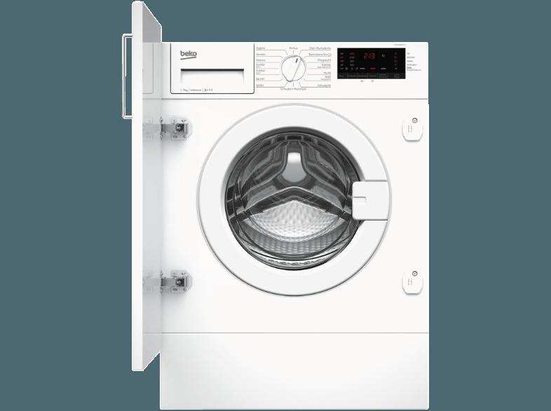 BEKO WMI71433PTE Waschmaschine (7 kg, 1400 null, A+++)