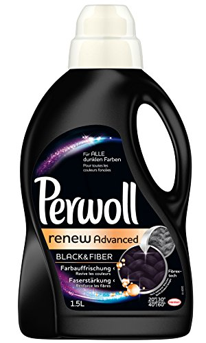Perwoll Schwarz & Faser renew Advanced, 4er Pack (4 x 1,5 L)