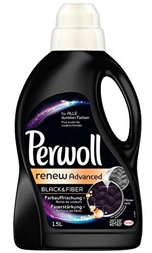 Perwoll Schwarz & Faser renew Advanced, 4er Pack (4 x 1,5 L)