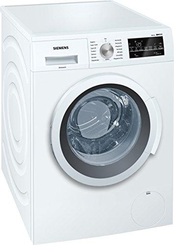 Siemens iQ500 WM14T420 iSensoric Waschmaschine A+++/1400 UpM/7 kg/Weiß/VarioPerfect/Großes Display mit Endezeitvorwahl/Selbstreinigungsschublade