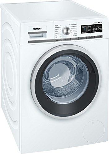 Siemens iQ700 WM16W540 iSensoric Premium-Waschmaschine/A+++ / 1600 UpM / 8kg / Weiß/VarioPerfect / Antiflecken-System/Selbstreinigungsschublade
