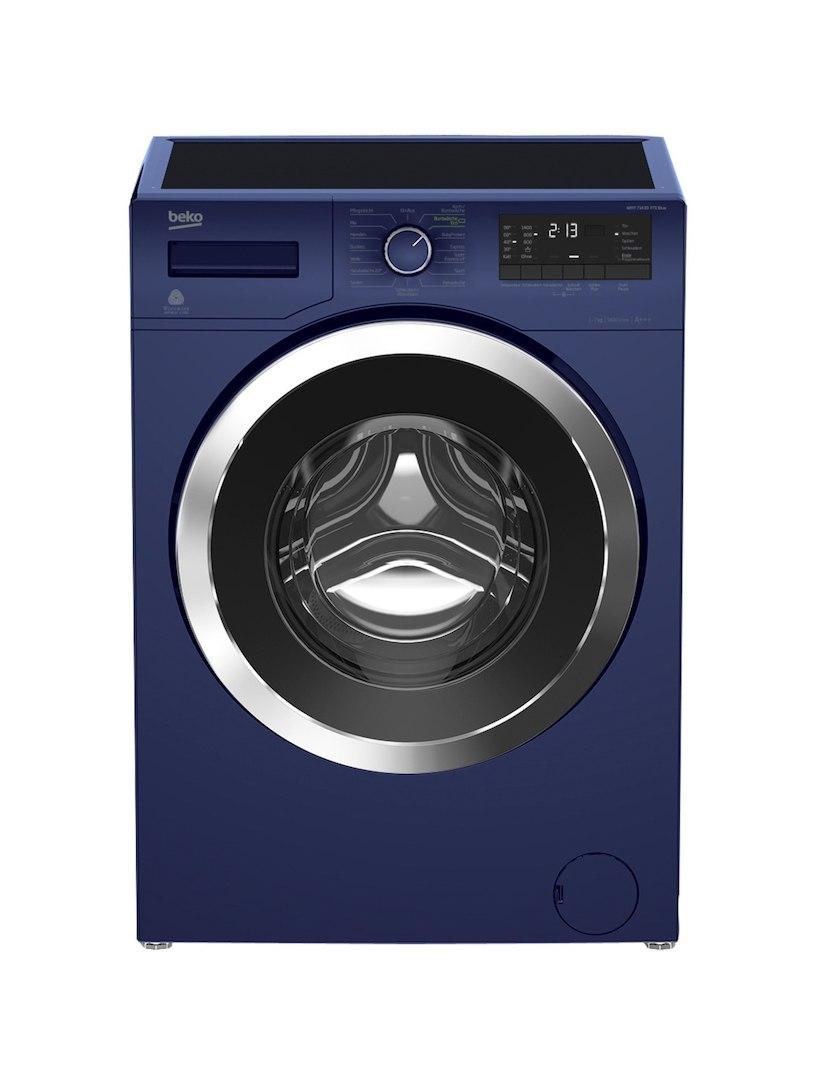 Waschmaschine WMY 71433 PTE BLUE BEKO Blau
