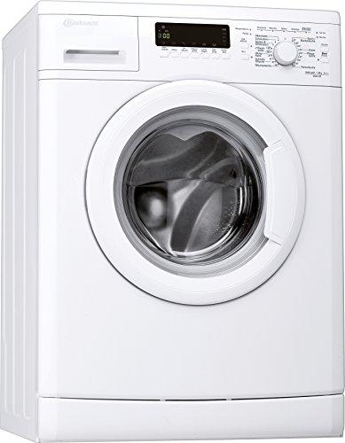 Bauknecht WAK 83 Waschmaschine FL/A+++ / 193 kWh/Jahr / 1400 UpM / 8 kg / 11000 L/Jahr/Mengenautomatik/Unterbaufähig/weiß
