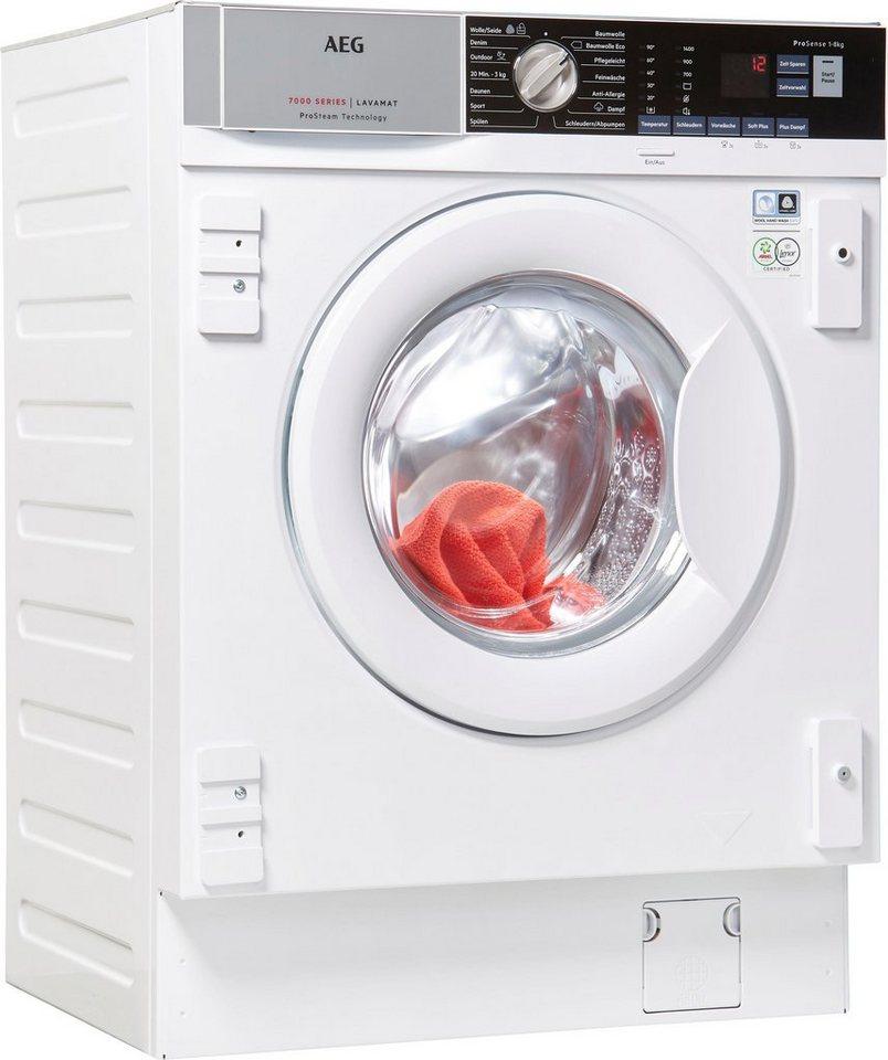 AEG Einbauwaschmaschine L7FBI6480, 8 kg, 1400 U/Min