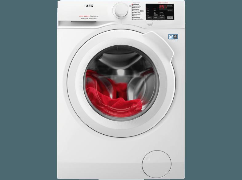 AEG L6FB54470 6000er Serie Waschmaschine (7 kg, 1400 U/Min., A+++)