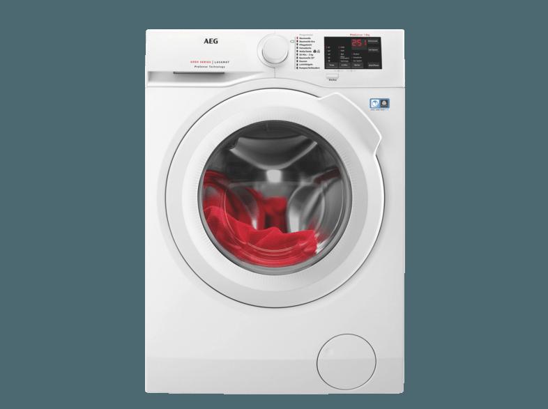 AEG L6FB54480 6000er Serie Waschmaschine (8 kg, 1400 U/Min., A+++)