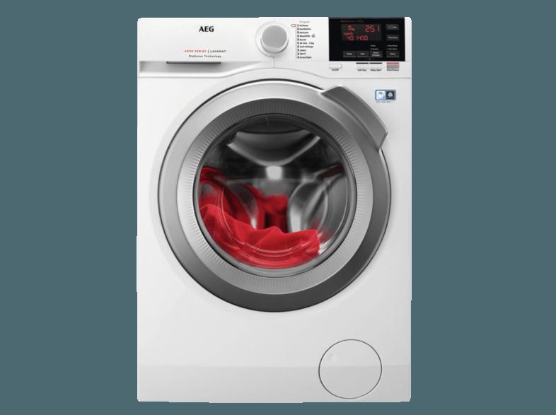AEG L6FB67400 6000er Serie Waschmaschine (10 kg, 1400 U/Min., A+++)