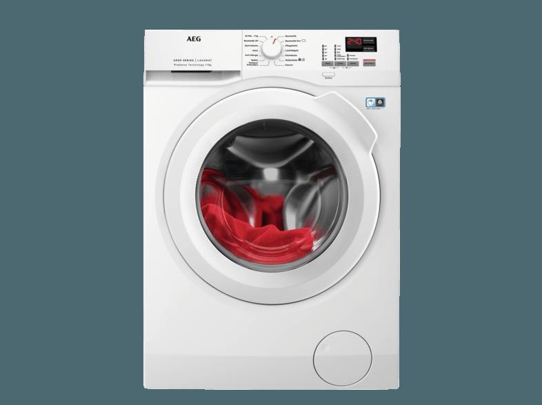 AEG L6FBA474 Lavamat Waschmaschine (7 kg, 1351 U/Min., A+++)