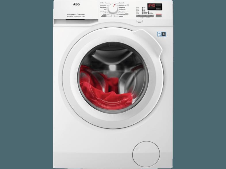 AEG L6FBA674 Lavamat Waschmaschine (7.0 kg, 1600 U/Min., A+++)