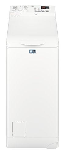 AEG L6TB40460 Waschmaschine Toplader / 6,0 kg / Mengenautomatik / Nachlegefunktion / Kindersicherung / Wasserstopp / 1400 U/min