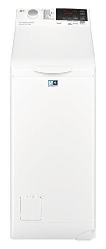 AEG L6TB61370 Waschmaschine Toplader / Energiesparender Waschvollautomat A+++ / Mit ProSense-Technologie und OptiSense Mengenautomatik / 40 cm breit mit 7 kg Fassungsvermögen