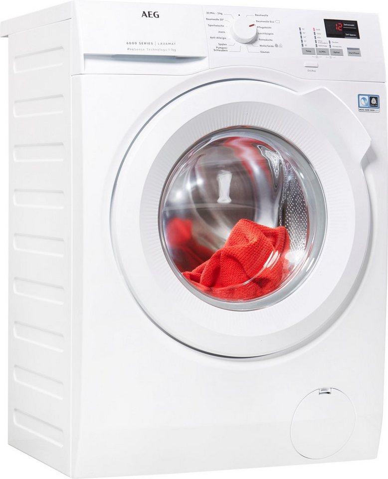 AEG Waschmaschine 6000 L6FBA474, 7 kg, 1400 U/Min