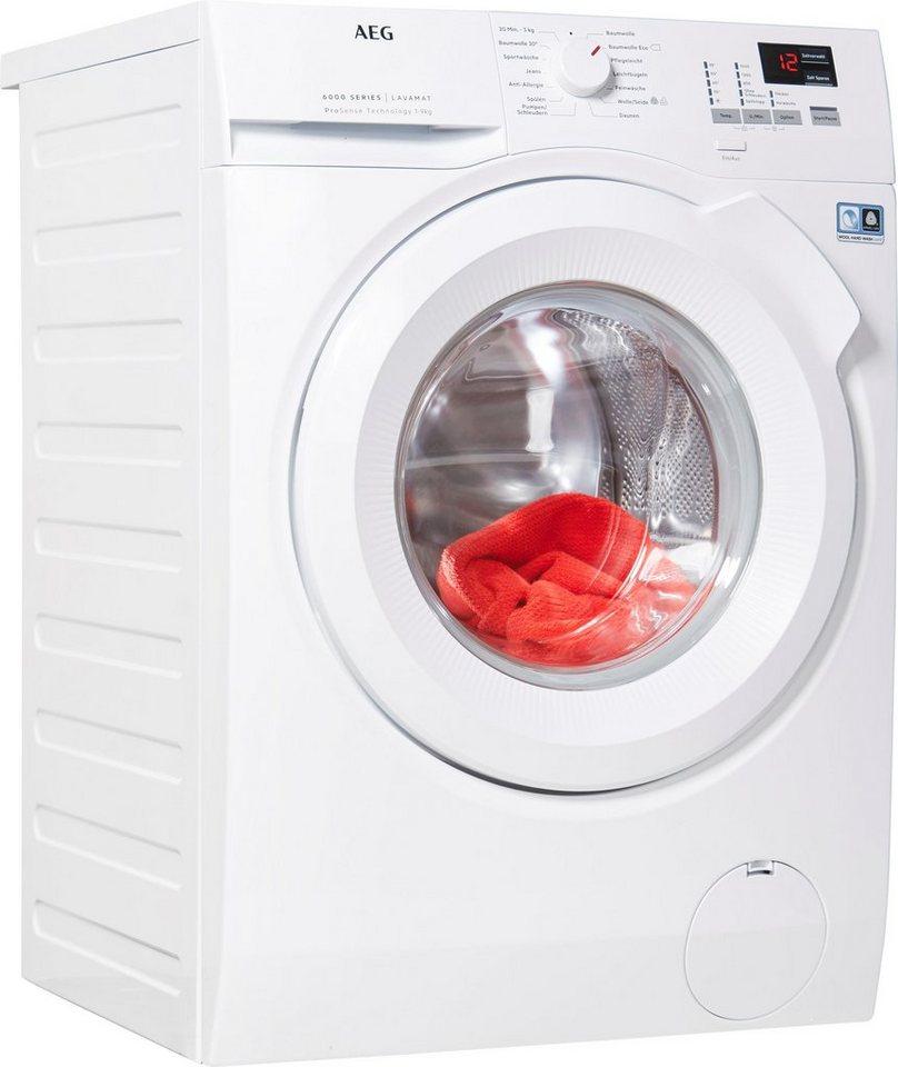 AEG Waschmaschine L6FBA494, 9 kg, 1400 U/Min