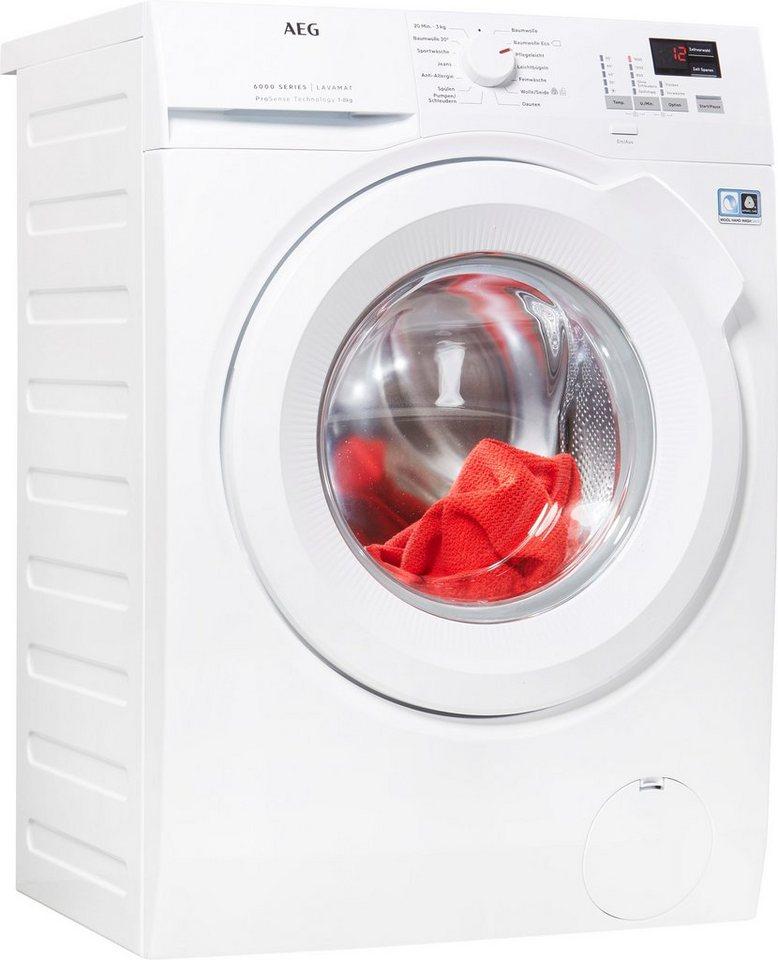 AEG Waschmaschine L6FBA684, 8 kg, 1600 U/Min