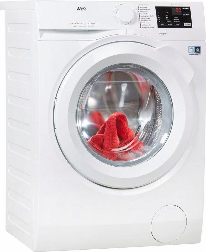 AEG Waschmaschine LAVAMAT L6FB54670, 7 kg, 1600 U/Min