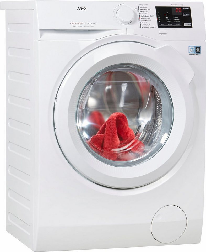 AEG Waschmaschine LAVAMAT L6FB54680, 8 kg, 1600 U/Min
