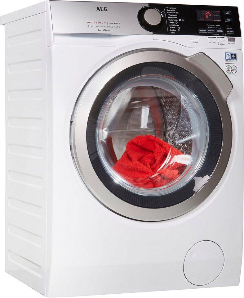 AEG Waschmaschine SERIE 7000 LAVAMAT L7FE78695, 9 kg, 1600 U/Min, mit AutoDose
