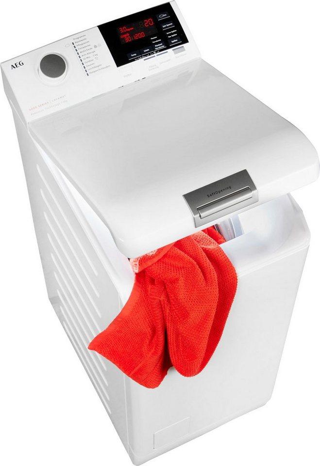 AEG Waschmaschine Toplader 6000 L6TB26TL, 6 kg, 1200 U/Min