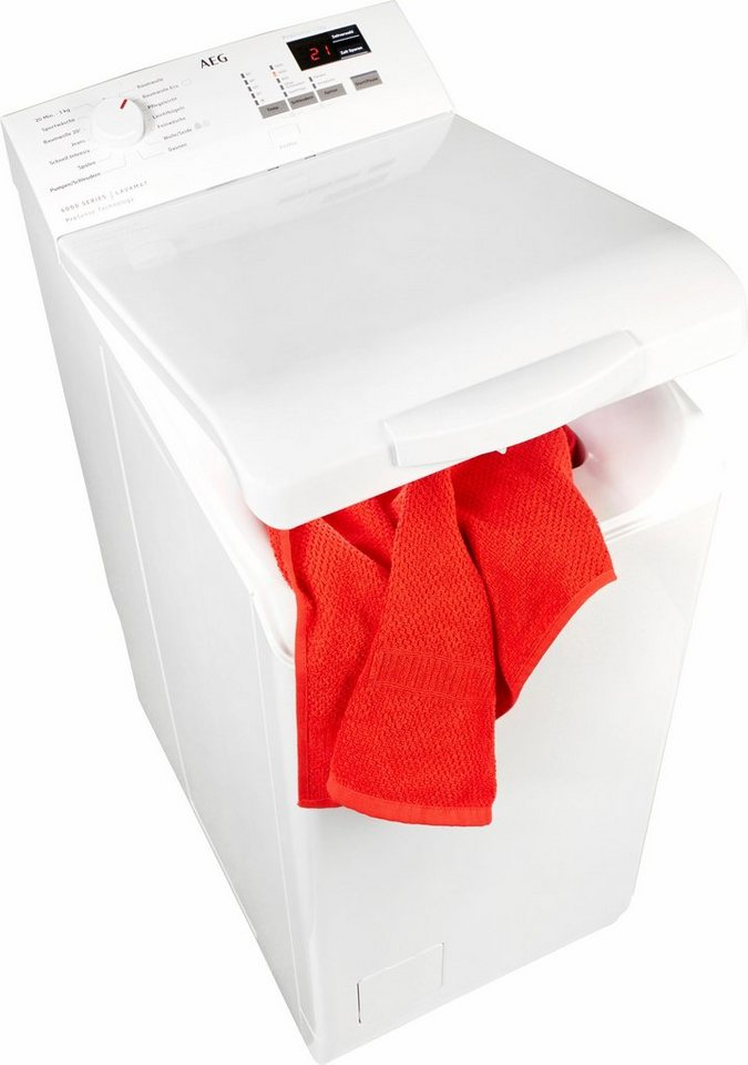 AEG Waschmaschine Toplader 6000 L6TB41270, 7 kg, 1200 U/Min