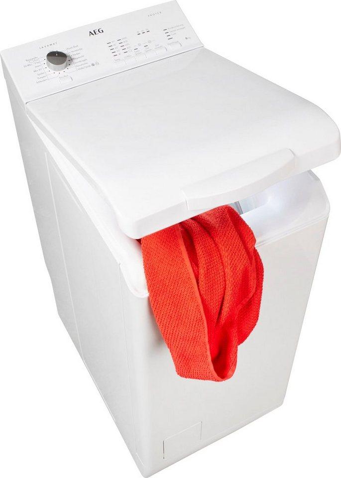 AEG Waschmaschine Toplader L51060TL, 6 kg, 1000 U/Min
