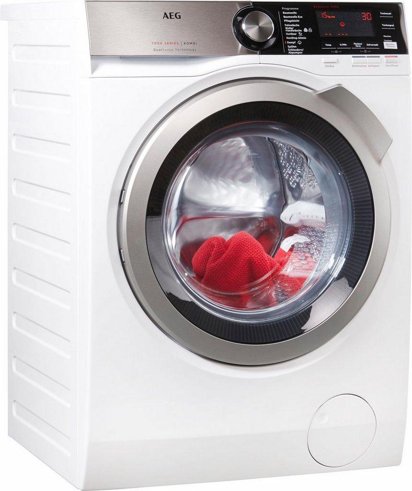 AEG Waschtrockner Serie 7000 L7WE86605, 10 kg/6 kg, 1550 U/Min