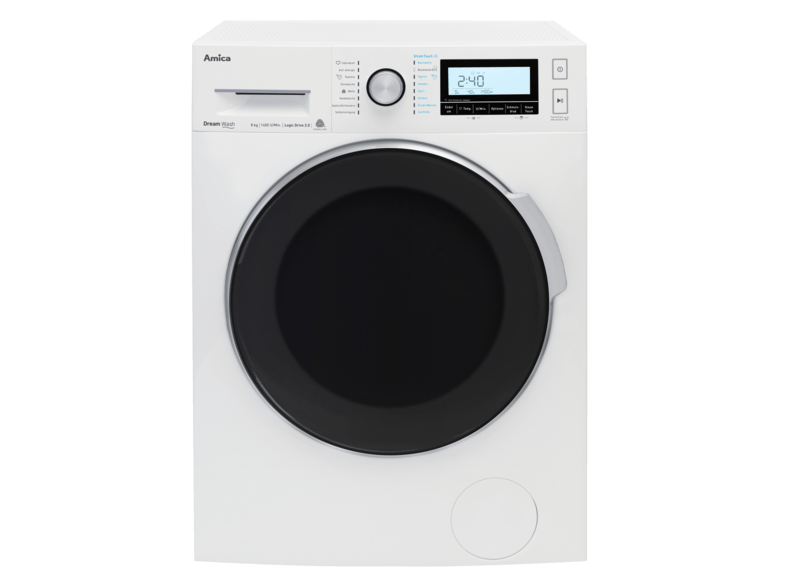 AMICA WA 484 111 W Dream Wash Waschmaschine (8 kg, 1400 U/Min., A+++)