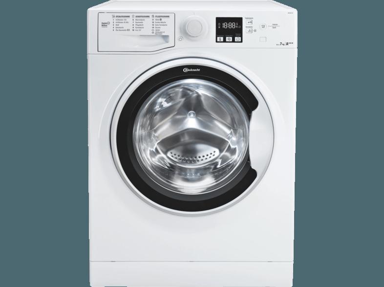 BAUKNECHT WA SOFT 7F4 Waschmaschine (7 kg, 1400 U/Min., A+++)