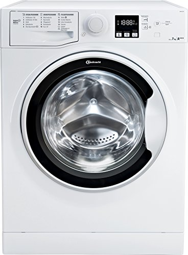 Bauknecht WA Soft 7F4 Waschmaschine Frontlader / A+++ / 1400 UpM / 7 kg / Weiß / langlebiger Motor / Nachlegefunktion / Wasserschutz