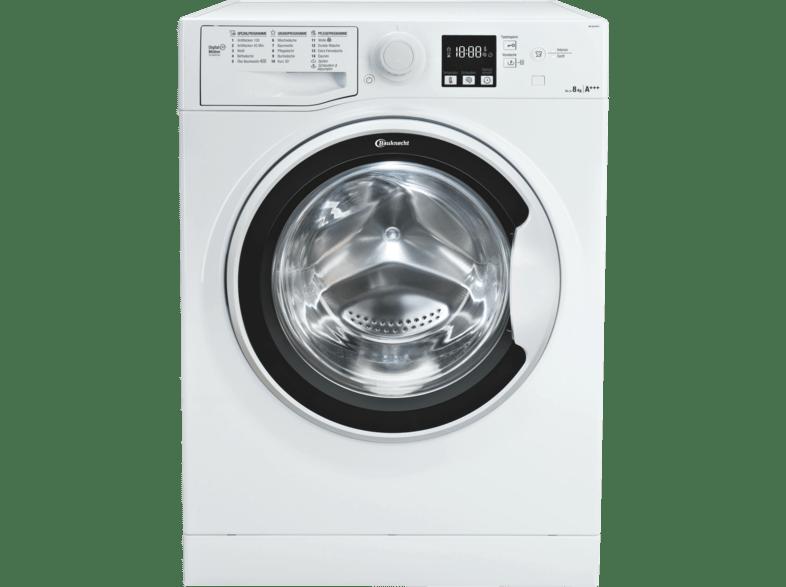 BAUKNECHT WA SOFT 8F41 Waschmaschine (8 kg, 1400 U/Min., A+++)