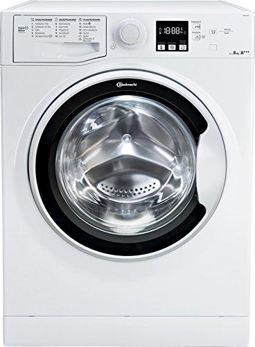 Bauknecht WA Soft 8F41 Waschmaschine Frontlader / A+++ -10% / 1400 UpM / 8 kg / Weiß / langlebiger Motor / Nachlegefunktion / Wasserschutz