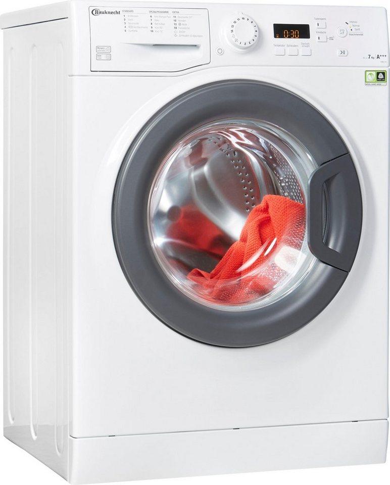 BAUKNECHT Waschmaschine FWM 7F4, 7 kg, 1400 U/Min