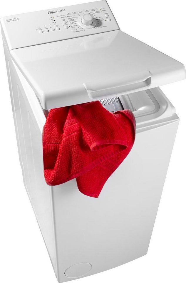 BAUKNECHT Waschmaschine Toplader WAT Prime 552 SD, 5,5 kg, 1200 U/Min