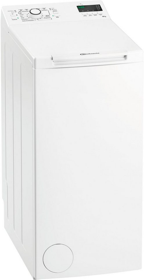 BAUKNECHT Waschmaschine Toplader WAT Prime 652 Di, 6 kg, 1200 U/Min