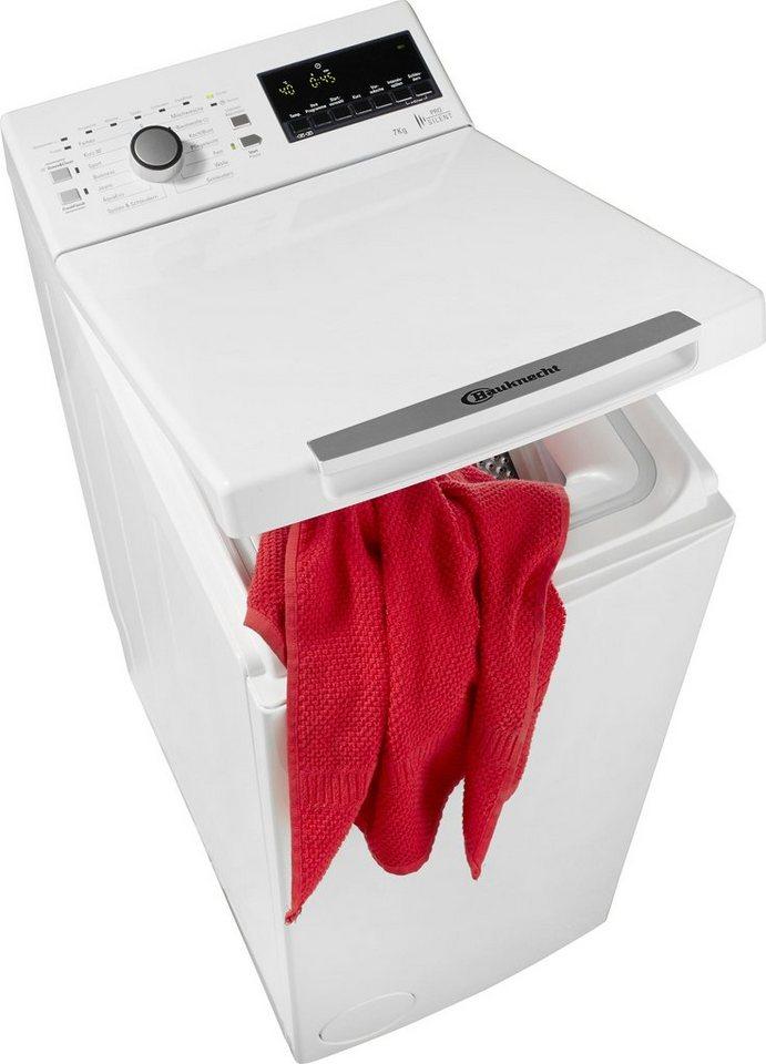 BAUKNECHT Waschmaschine Toplader WAT Prime 752 PS, 7 kg, 1200 U/Min