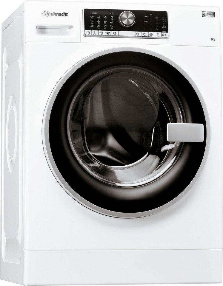 BAUKNECHT Waschmaschine WM AUTODOS 814 ZEN, 8 kg, 1400 U/Min