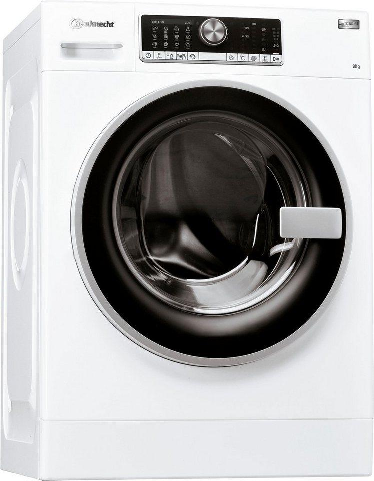 BAUKNECHT Waschmaschine WM AUTODOS914ZEN, 9 kg, 1400 U/Min