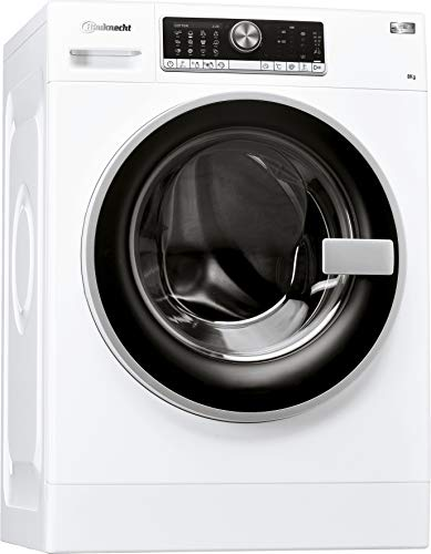 Bauknecht WM AutoDos 8 ZEN Waschmaschine Frontlader / A+++ -50% B/ 8 kg / 1400 UpM /AutoDose/ZEN Direktantrieb/leise mit 49 dB/SoftMove/EcoMonitor/Vollwasserschutz/Kurz-Option/FertigIn
