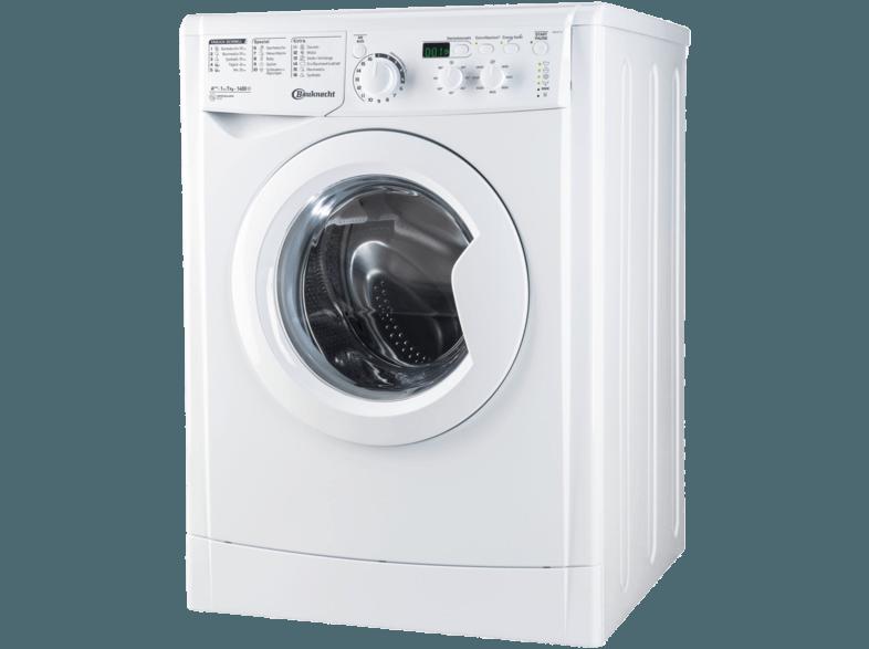 BAUKNECHT WM MT 7 IV Waschmaschine (7 kg, 1351 U/Min., A+++)
