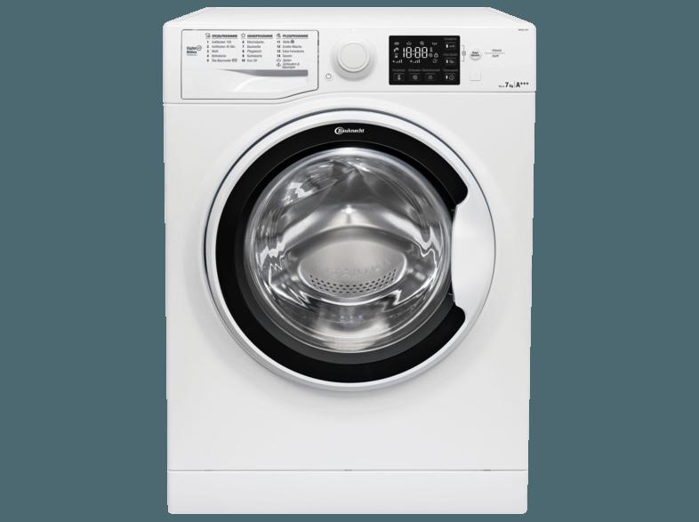 BAUKNECHT WM PURE 7G41 Waschmaschine (7 kg, 1400 U/Min., A+++)