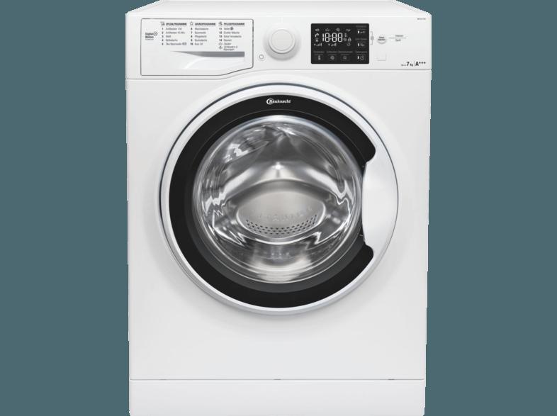 BAUKNECHT WM PURE 7G42 Waschmaschine (7 kg, 1400 U/Min., A+++)