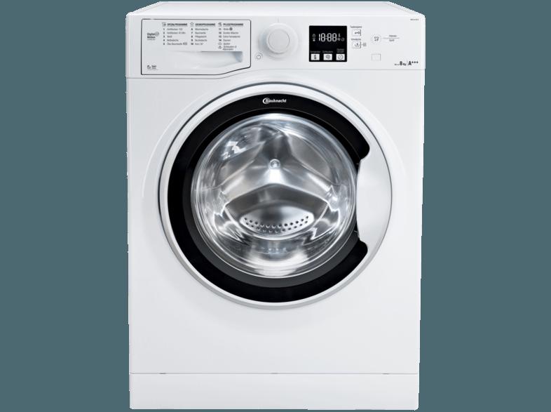 BAUKNECHT WM PURE 8F16 Active Care Waschmaschine (8 kg, 1551 U/Min., A+++)
