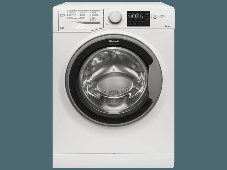 BAUKNECHT WM Sense 8G42PS Waschmaschine (8 kg, 1400 U/Min., A+++)