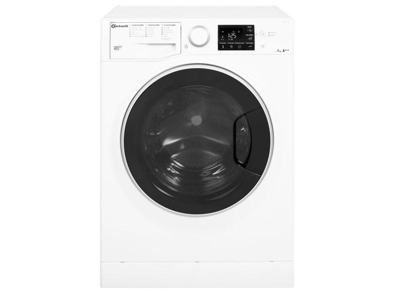 BAUKNECHT WM STEAM 7 100 Active Care Steam Waschmaschine (7 kg, 1400 U/Min., A+++)