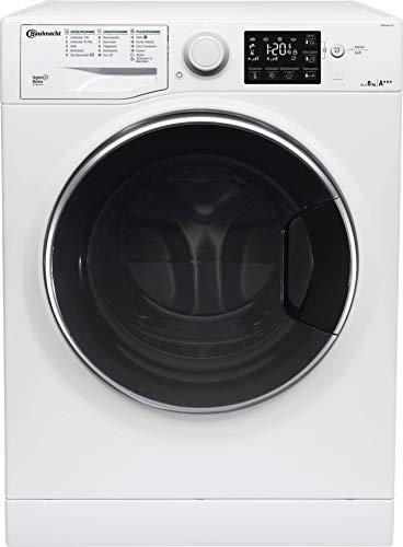 Bauknecht WM Steam 8 100 Waschmaschine Frontlader/A+++/1400 UpM/8 kg/Weiß/langlebiger Motor/Antiflecken 100/Dampf-Option/EcoTech Mengenautomatik/ 2+2 Jahre Herstellergarantie