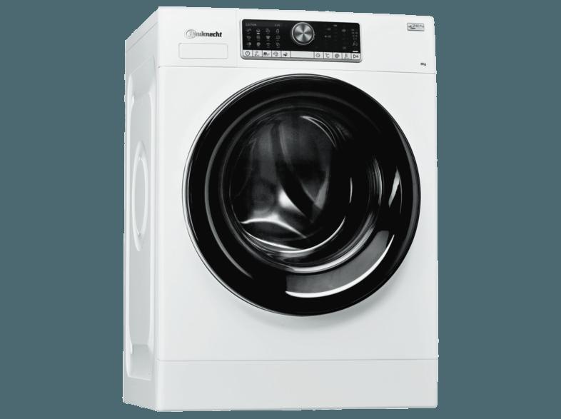 BAUKNECHT WM Style 824 ZEN Waschmaschine (8 kg, 1400 U/Min., A+++)