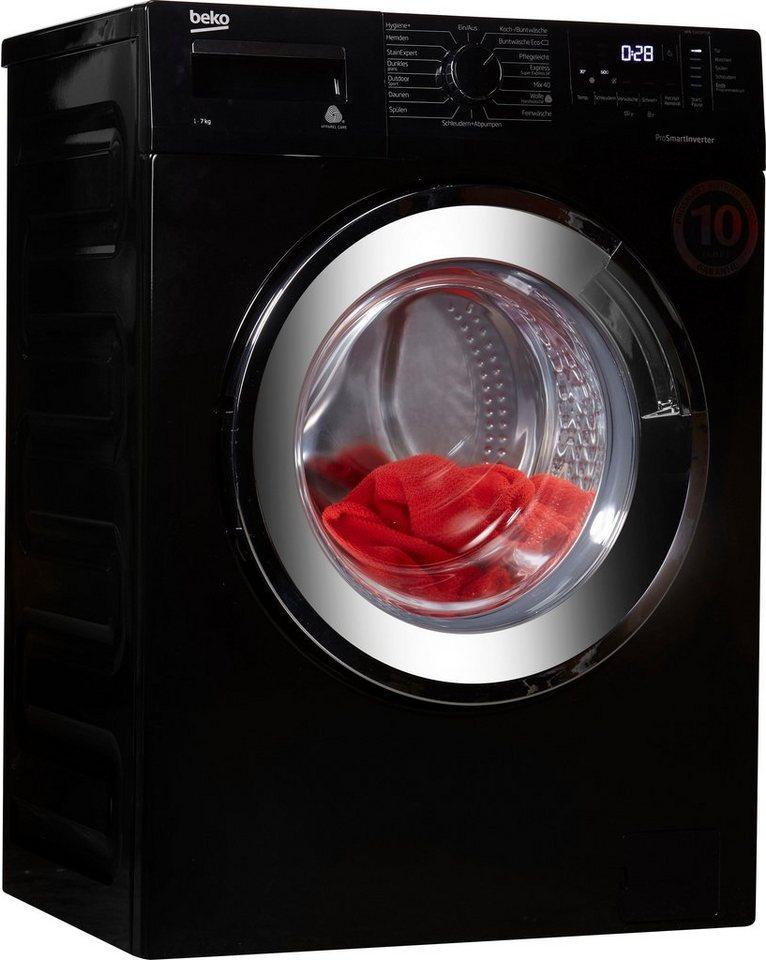 BEKO Waschmaschine WML 71433 PTEB, 7 kg, 1400 U/Min