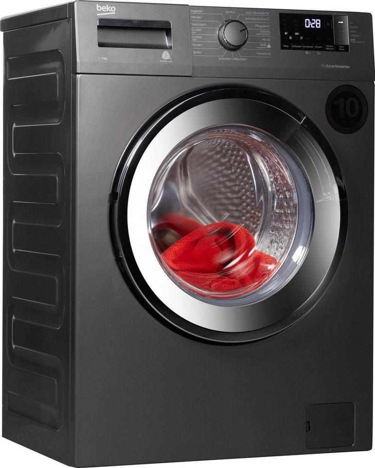 BEKO Waschmaschine WML 71433 PTEMG, 7 kg, 1400 U/Min