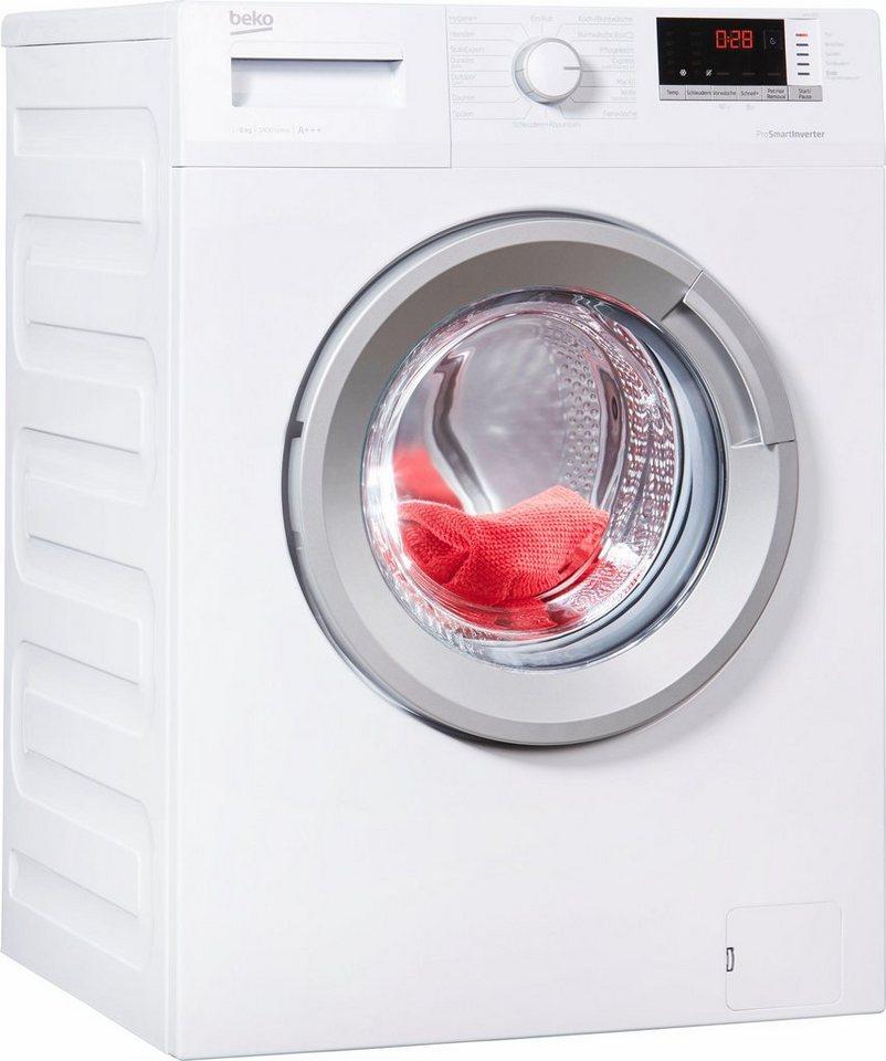 BEKO Waschmaschine WMO 822, 8 kg, 1400 U/Min