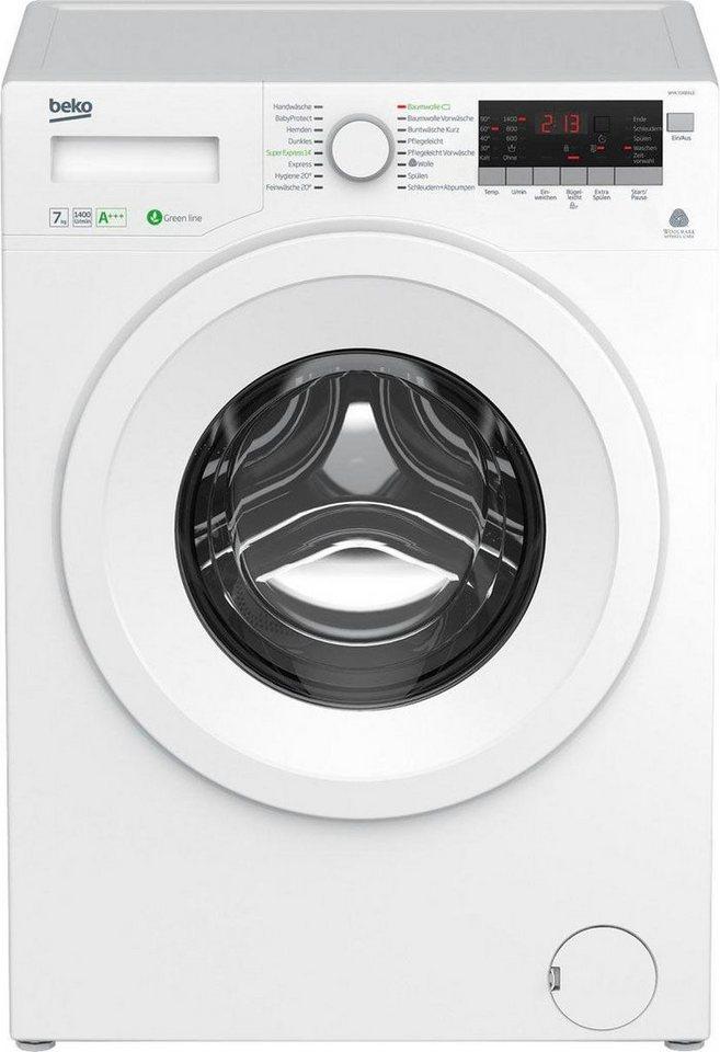 BEKO Waschmaschine WYA 71483 LE, 7 kg, 1400 U/Min